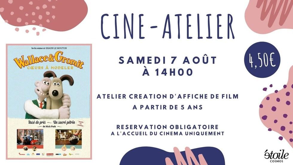 Ciné-atelier : WALLACE ET GROMIT COEURS A MODELER